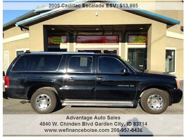 ►2005 Cadillac Escalade ESV Platinum~Worth the Drive~We Finance