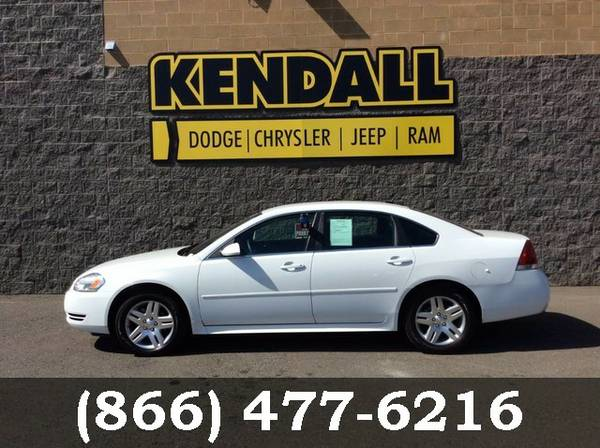 2016 Chevrolet Impala Limited fleet-only Summit White Good deal!