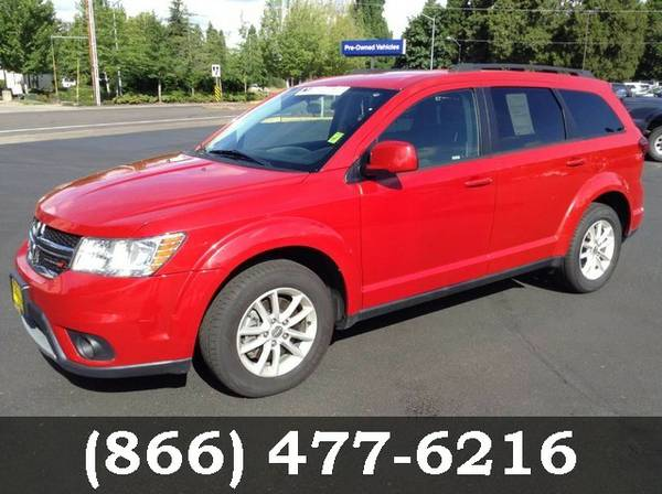 2014 Dodge Journey Redline 2 Coat Pearl Must See - WOW!!!