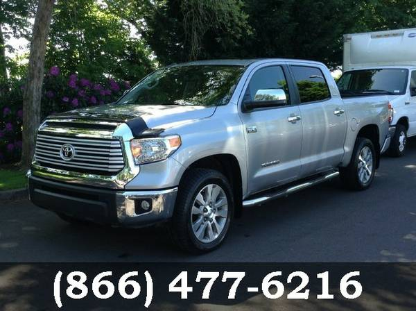 2014 Toyota Tundra 4WD Truck SILVER Call Today!