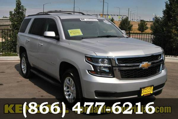 2015 Chevrolet Tahoe SILVER Great price!