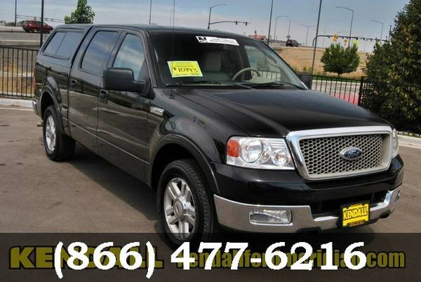 2004 Ford F-150 Black ON SPECIAL - Great deal!