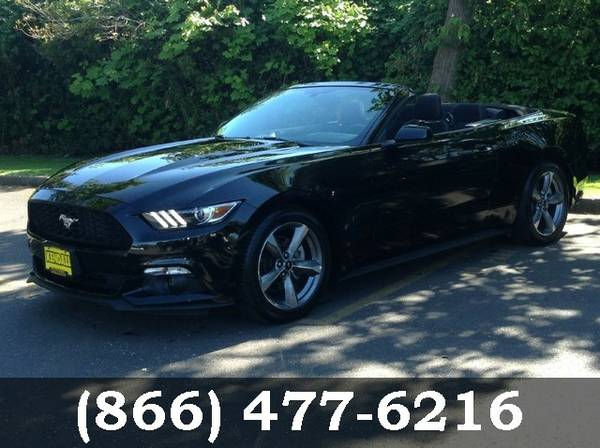2015 Ford Mustang Black PRICED TO SELL!