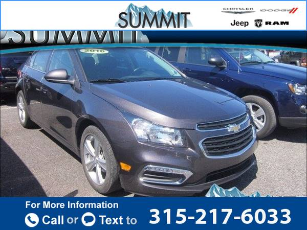 2016 *Chevrolet* *Chevy* *Cruze* *Limited* *2LT* *Auto* 16k miles