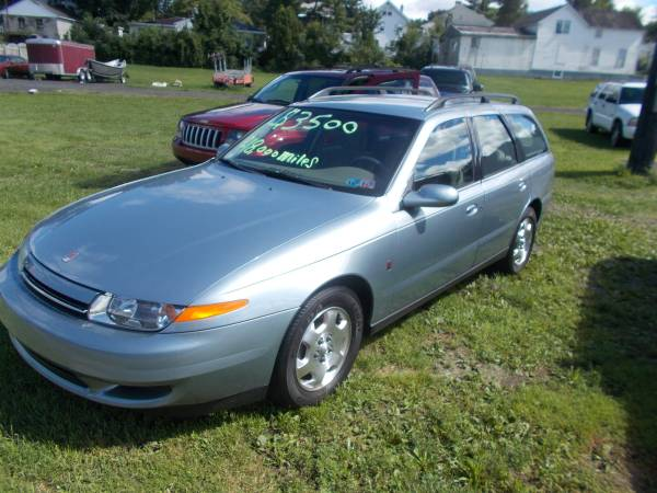 2002 SATURN L SERIES WAGON