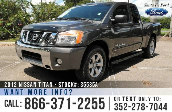 *** 2012 Nissan Titan SV *** Extended Cab Pickup Truck - 41k Miles