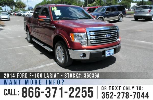 *** 2014 Ford F150 Lariat *** Used F-150 Pickup Truck - Supercrew Cab