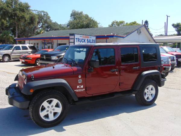 2007 Jeep Wrangler Unlimited 100% Financing & Leasing Available