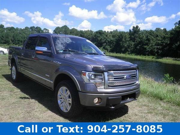2013 Ford F-150 Platinum Truck F-150 Ford