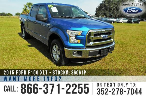 *** 2015 Ford F150 ( F-150 ) XLT *** Preowned Pickup Truck - SuperCrew