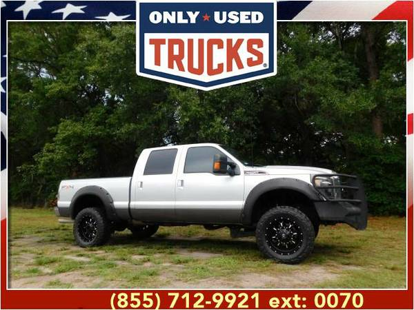 2011 *Ford F250* *F-250*F 250* Lariat 4x4 Super Duty (8cyl, 6.2L,...