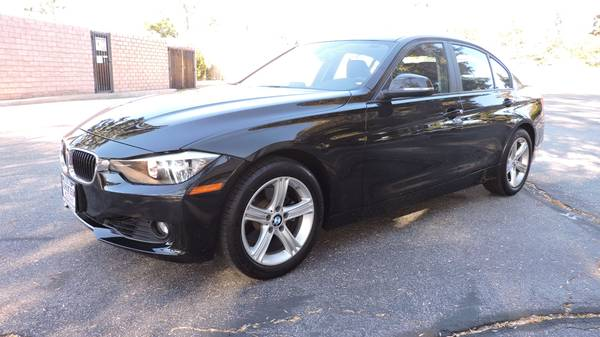 2013 BMW 328I WITH 57K MILES! BLACK ON BLACK! JUST SERVICED!