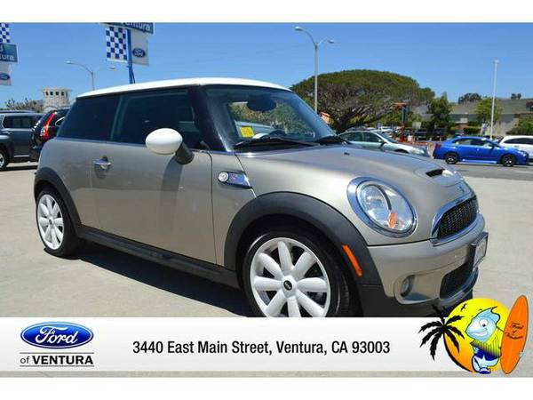 2010 *MINI COOPER HARDTOP* 2DR CPE S (PEWTER)