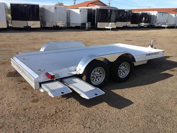 Aluminum Car Hauler, Car Trailer, Featherlite Trailers, 3110-0014