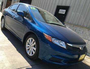 2012 Honda Civic EX (Low miles!) @ Premier Auto Sales