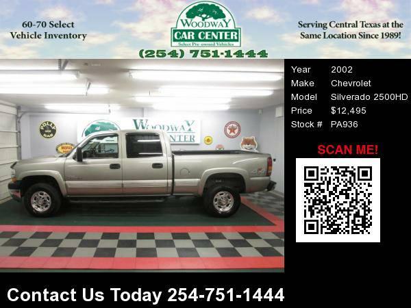 2002 Chevrolet Silverado 2500 Diesel Crew Cab 4X4 Nice !
