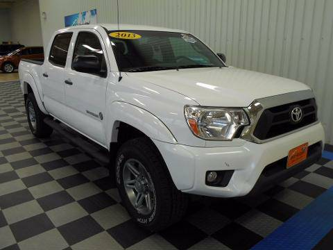 2013 Toyota Tacoma 4 Door Crew Cab Short Bed Truck