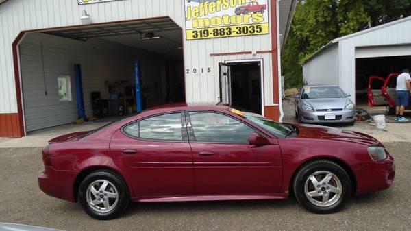 04 pontiac grand prix GT. .local trade. 132000 miles. Excellent $3999