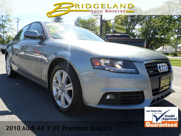 2010 Audi A4 2.0T PREMIUM QUATTRO 2 TO CHOOSE FROM AT THIS PRICE!