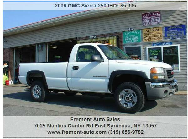 2006 GMC 2500HD Sierra 2wd w/t all new lines and more Silverado 2500hd