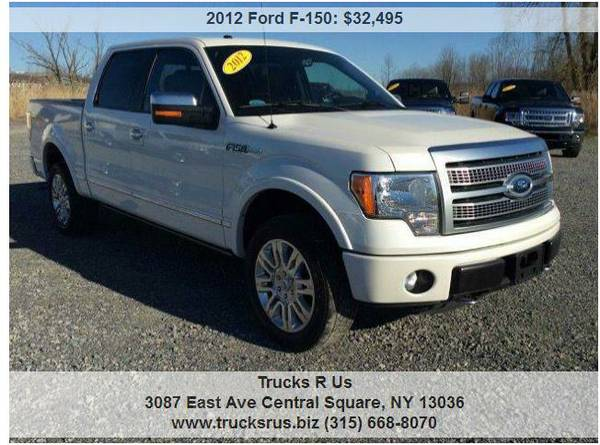 2012 Ford F-150 Platinum 6.2L 411 HP