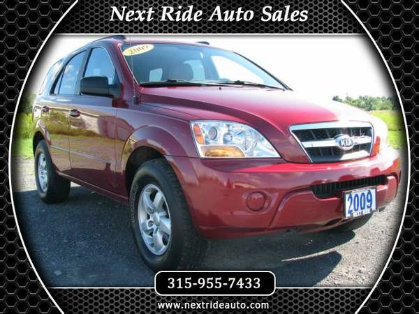 2009 Kia Sorento LX V6 4WD::Guaranteed Bank Financing