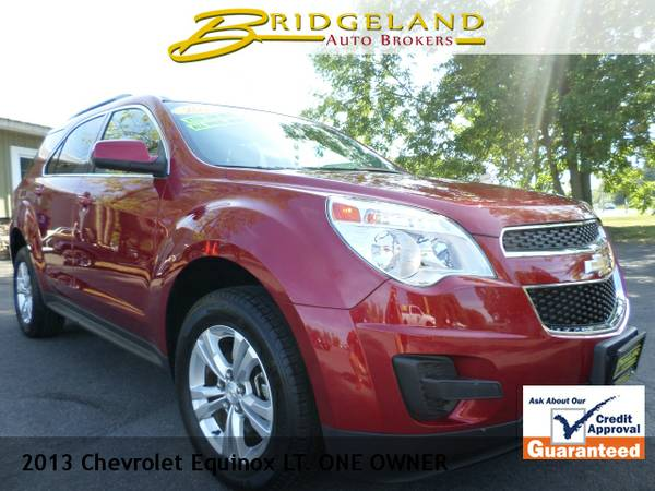 2013 Chevrolet Equinox LT REAR CAMERA, ONLY 34,000 MILES NEW CHEVY...