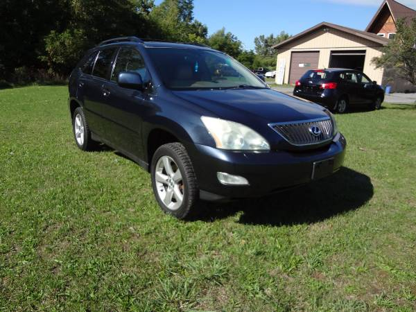 2004 Lexus RX 330 Loaded Metalic Blue On Cream Leather