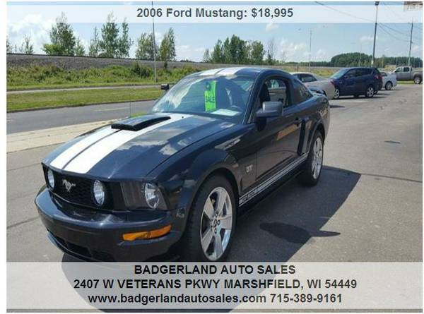 ►2006 Ford Mustang Black 15206 miles - On Sale!►