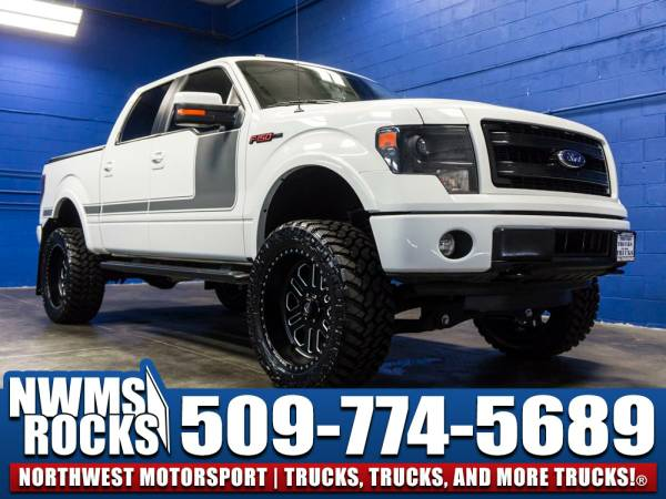 Lifted 2013 *Ford F150* FX4 4x4 - 2013 Ford F-150 FX4 4x4 Truck w/...