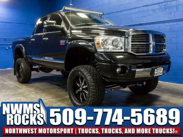 Lifted 2007 *Dodge Ram* 3500 Laramie 4x4 - Premium Wheels! 2007 Dodge