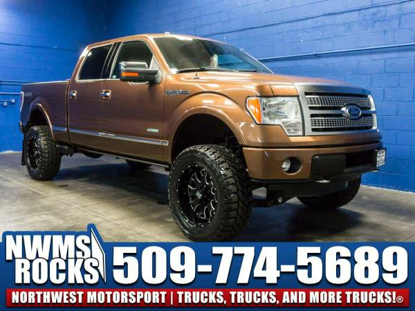 Lifted 2011 *Ford F150* Platinum 4x4 - BRAND NEW LIFT KIT! 2011 Ford...