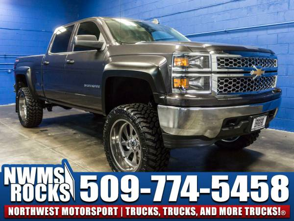 Lifted 2015 *Chevrolet Silverado* 1500 LT 4x4 - BRAND NEW LIFT KIT!...