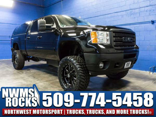 Lifted 2014 *GMC Sierra* 2500 4x4 - Paint Matched Canopy! 2014 GMC...