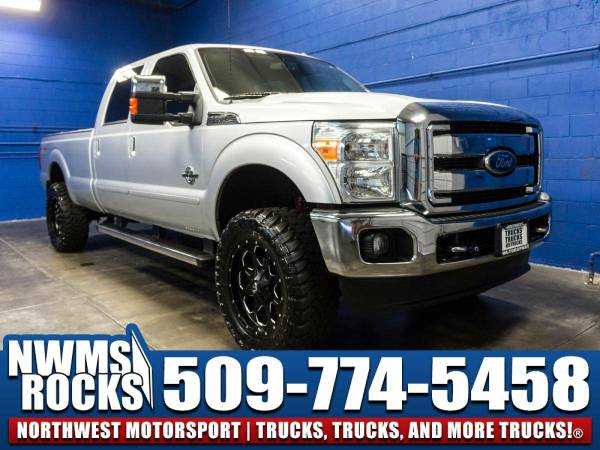Lifted 2011 *Ford F350* Lariat 4x4 - HEATED AND AC SEATS! 2011 Ford...
