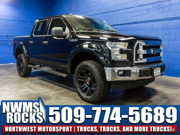 Lifted 2016 *Ford F150* XLT 4x4 - LOW MILE TRUCKS! 2016 Ford F-150...