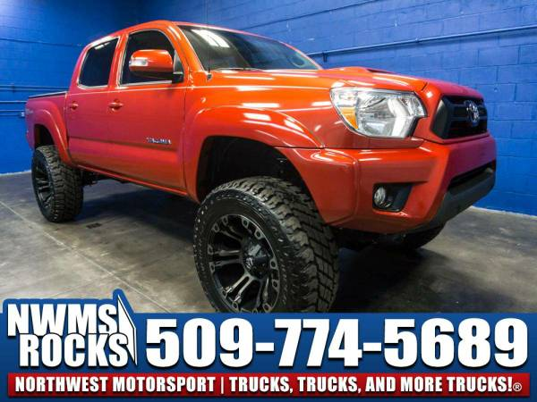 Lifted 2015 *Toyota Tacoma* TRD Sport 4x4 - LIFTED TRUCKS! 2015...