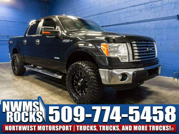 Lifted 2012 *Ford F150* XLT 4x4 - Clean Carfax History! 2012 Ford...