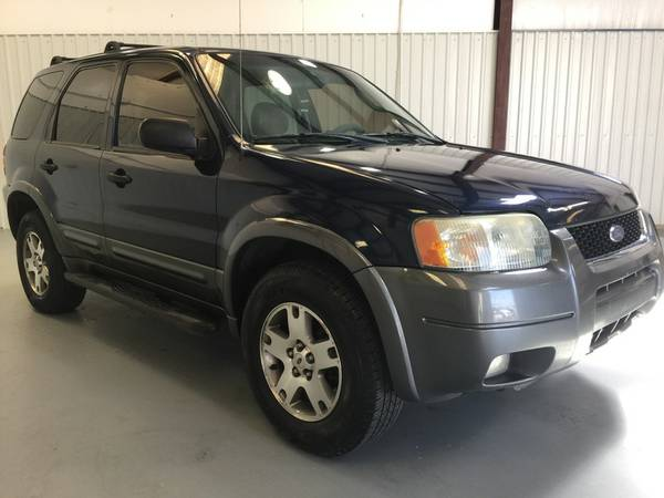 2004 FORD ESCAPE XLT**LEATHER**LOADED**KEYLESS**3.0 V6 MOTOR**TINT!!!