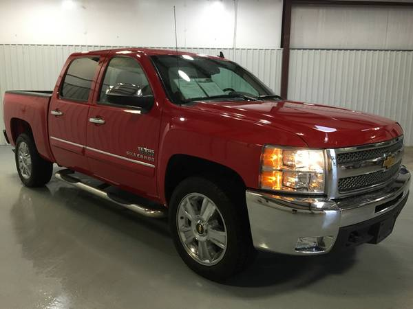 2012 CHEVROLET TEXAS EDITION*VICTORY RED*LEATHER*SPRY LINER*CHROME PKG
