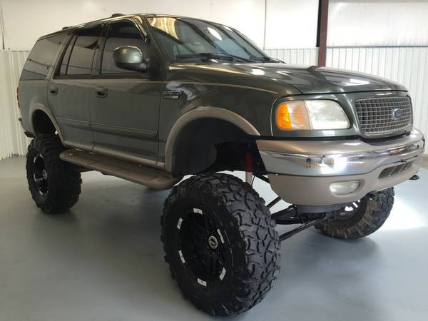 2001 FORD EXPEDITION**LIFT KIT*TIRES*LEATHER*4X4*SUNROOF*CDPLAYER*!!