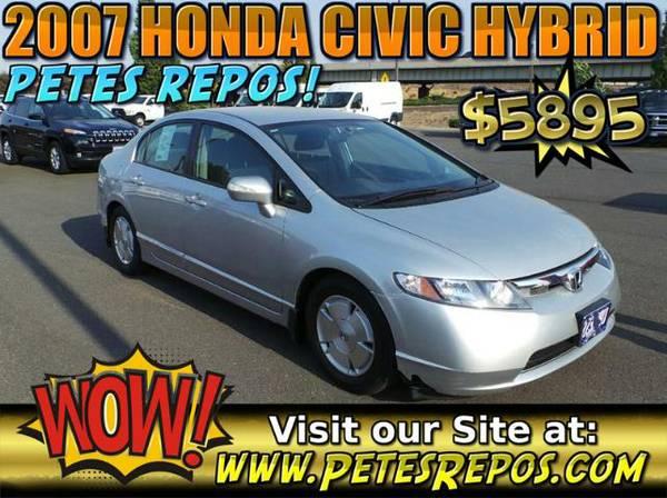 2007 Honda Civic Hybrid _-_ Excellent Honda For Sale