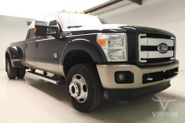 Stock F6726A 2013 Ford Super Duty F-350 DRW Pickup Truck King Ranch...
