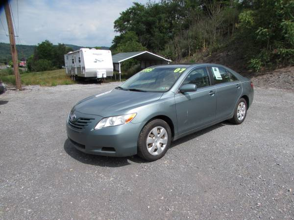 SALE!! 2007 TOYOTA CAMRY VERY CLEAN (ALL CREDIT OK)