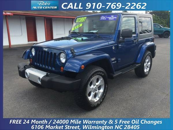 2010 Jeep Wrangler Sahara with