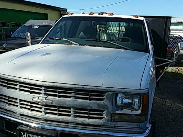 1999 Chevrolet C/K 3500 diesel bad credit financing
