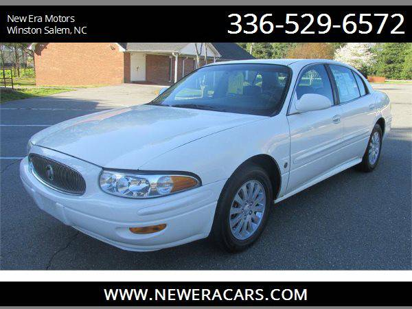 2005 BUICK LESABRE CUSTOM Leather!, White
