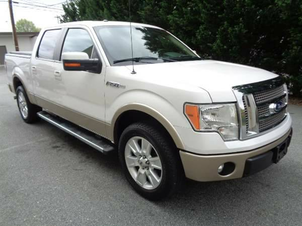 2012 Ford F150 Lariat Super Crew 4x4 5.0L *BUY HERE PAY HERE!*
