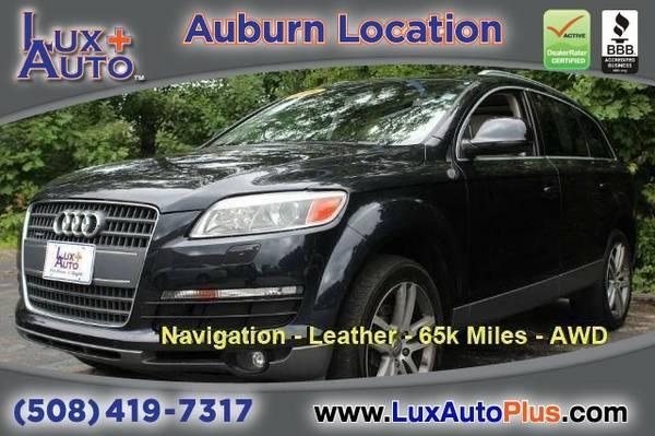 2009 Audi Q7 4.2 Prestige AWD - NAV - Leather - 65k Miles SUV Q7 Audi