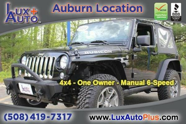 2014 Jeep Wrangler Rubicon 4x4 - One Owner - Manual 6-Speed SUV...